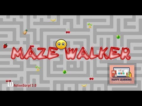 Making a Maze Game in Adobe Flash Using ActionScript 3.0 - Part 01