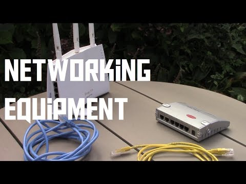 What do modems, routers, switches and access points do? (AKIO TV)