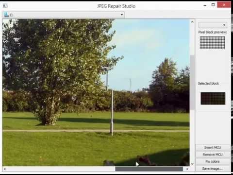How to fix corrupt JPEG files - JPEG Repair Shop (Freeware)