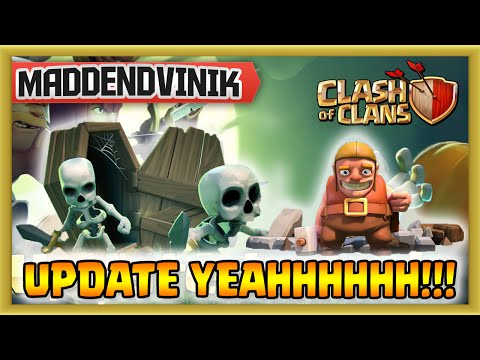 Clash of Clans - Halloween Update NEW Skeleton Trap, Clan Profile, Mortar, Loot Bonuses and More!!! 10/22/14