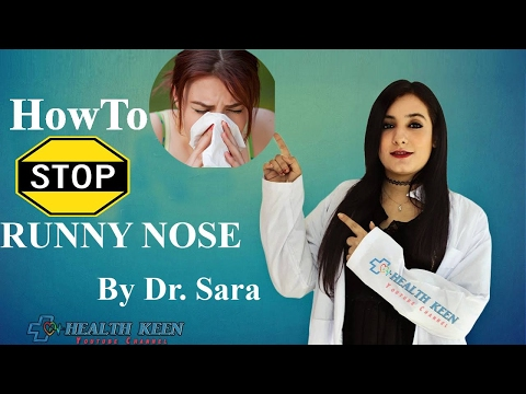 10 Ways How to Get Rid of Runny Nose Fast