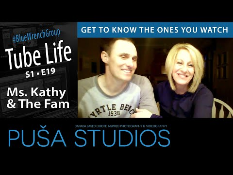 Puša Live Stream #028: Meet Ms. Kathy And The Fam