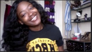 Refreshing My Indian Remy Wet & Wavy Hair