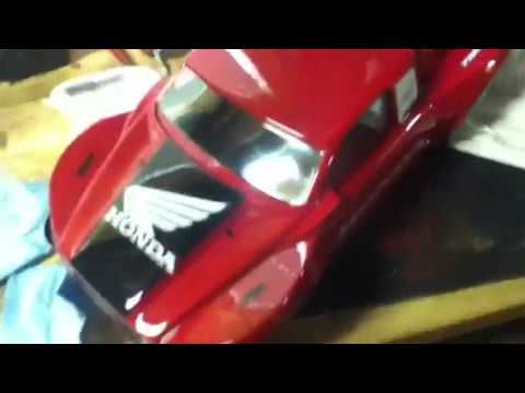 How to make your rc car body stronger