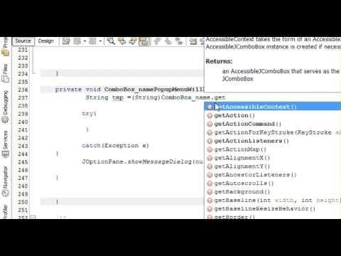 Java prog#10. Display jtextfield when select item in jcombobox in Netbeans Java and Sqlite (mysql)