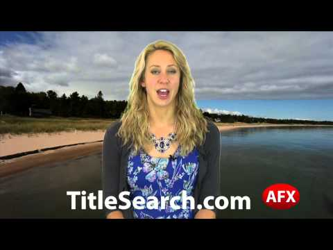 Property title records in Tuscola County Michigan   AFX