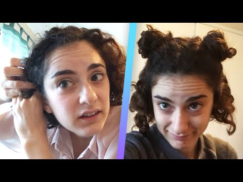 I Tried Curly Hairstyles For A Week