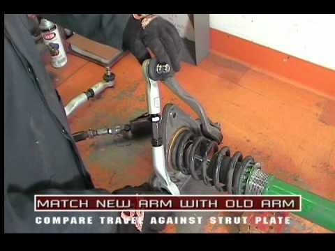 81350 - Audi and VW Upper Control Arms - Specialty Products Company