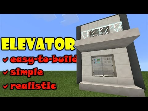 ELEVATOR TUTORIAL | Minecraft PE Slime Piston Up and Down Elevator | #pinoyyoutubersrule