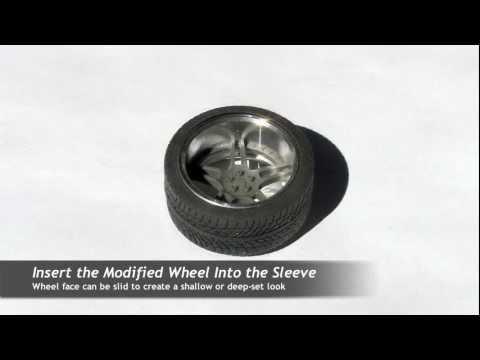 How to Make Custom Wheels Using Pegasus & Hobby Design Parts