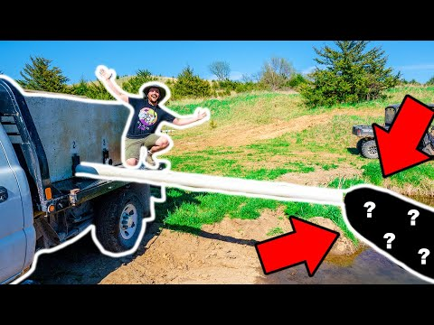 STOCKING TRUCK Delivering HUGE FISH to My BACKYARD POND!!!