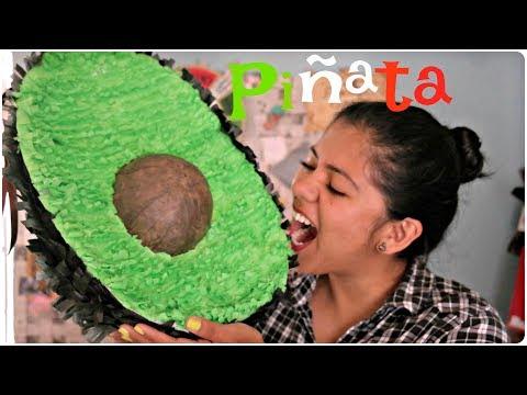 DIY! Piñata de Aguacate ❤️ SÚPER FÁCIL | Amé Mayén