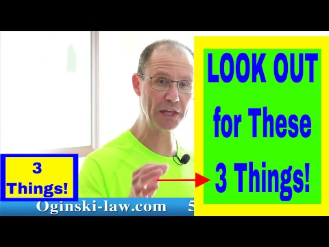 3 Things to WATCH OUT For When Choosing a Medical Malpractice Attorney; NY Lawyer Oginski Explains