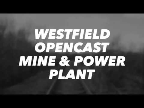 Westfield opencast mine and power plant
