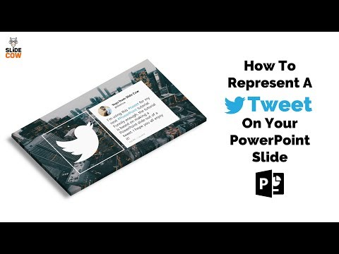 How To Represent A Tweet On Your PowerPoint Slide