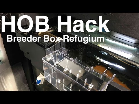 Filter Hack - Pathos Refugium Breeder Box
