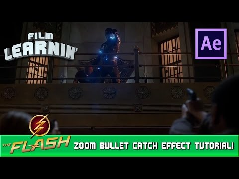 Zoom Bullet Catch After Effects Tutorial! | Film Learnin