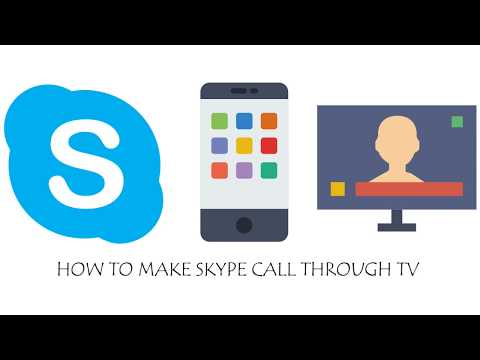Skype Video Calling through TV