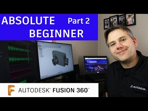 Fusion 360 Tutorial for Absolute Beginners— Part 2
