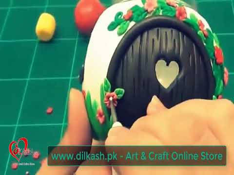 How to make DIY Miniature Fairy House with Dough - Dilkash.pk - Art & Craft Online Store