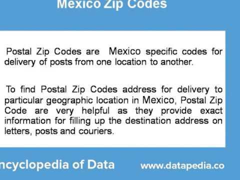 Mexico Postal Codes Lookup