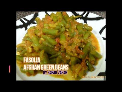 Afghan Green Beans (Fasolia) Veggie Dish