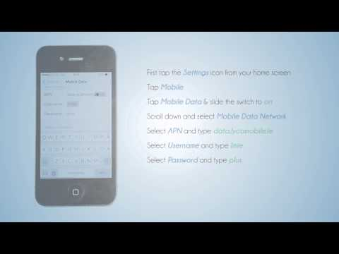 Lycamobile Ireland - Mobile Data Setting for your iPhone