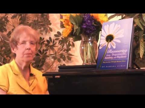 Barb Altman Recovering From Depression, Anxiety, And Psychosis