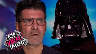 The FORCE IS STRONG with SIMON COWELL during these STAR WARS INSPIRED Acts!