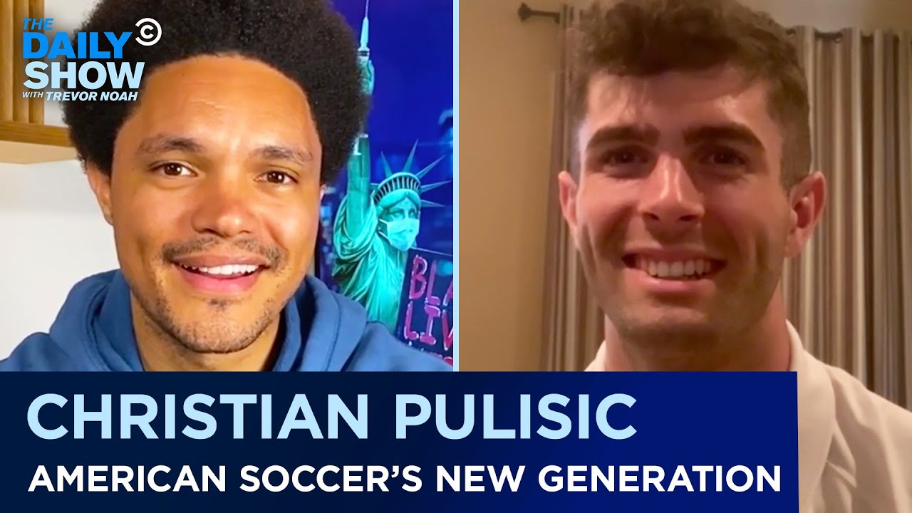 Christian Pulisic - Becoming the Face of American Soccer   The Daily Show
