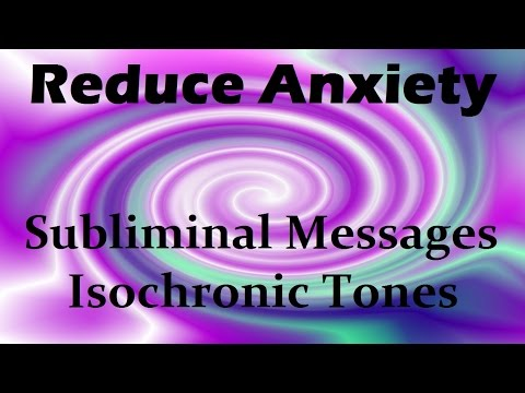 2 Hours Anxiety Relief: Improve Your Sleep | Isochronic Tones Subliminal Meditation
