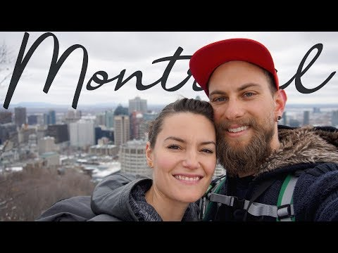 CLIMBING MONT ROYAL IN MONTREAL / TRAVEL VLOG DAY 3