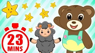 Teddy Bear And More | 23 Mins Compilation | English Nursery Rhymes | Magicbox English Kids