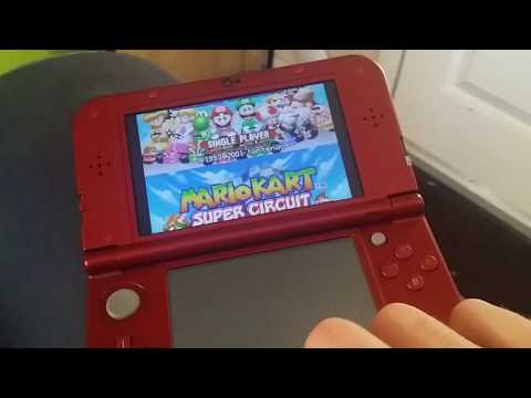 Strange screen-shifting issue on New 3DS for 3 GBA virtual console games