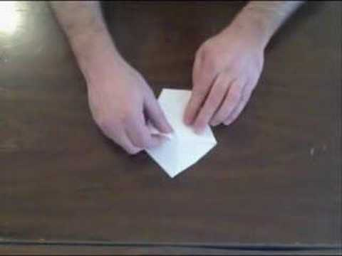 How to Make a Paper Cup - Origami Style