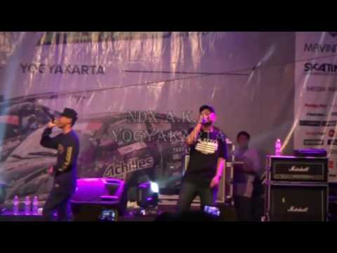 NDX AKA Ft PJR Live Perform. salah kekancan
