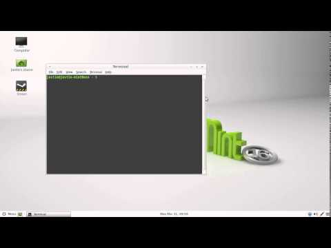 check your system info in Linux Mint 16