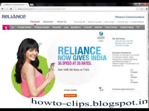 How to Pay Reliance PostPaid Bill Instantly
