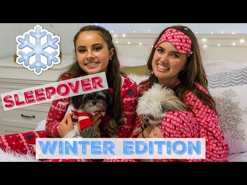 What to do at a Sleepover!!!- Winter Edition