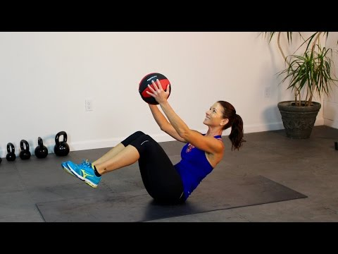 Medicine Ball Abs Defined - Best Way to a Flat Stomach!