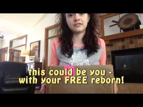 FREE Reborn Doll Giveaway