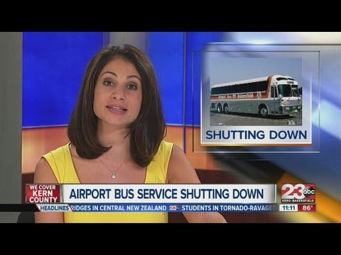 Bus travelling form Bakersfield to Los Angeles International Airport to shut down