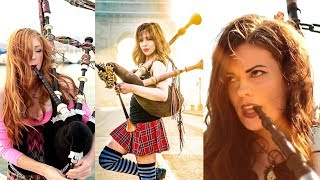 Shipping Up To Boston/Enter Sandman - Bagpipe Cover (The Snake Charmer x Goddesses of Bagpipe)