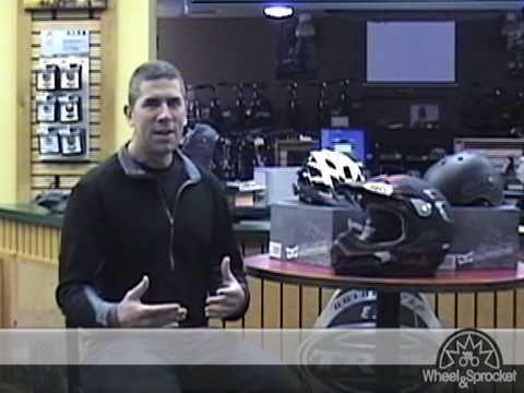 Bicycle helmet fitting video