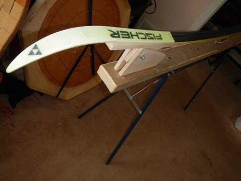 Portable Ski Wax Stand