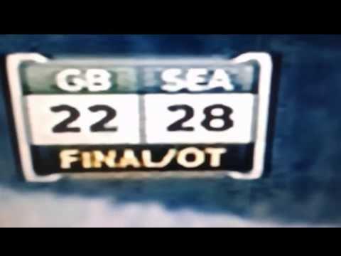 Seattle Seahawks vs  Green bay packers 01 / 18 / 2015