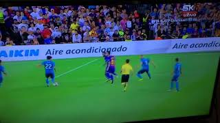 Pique own goal against Real Madrid