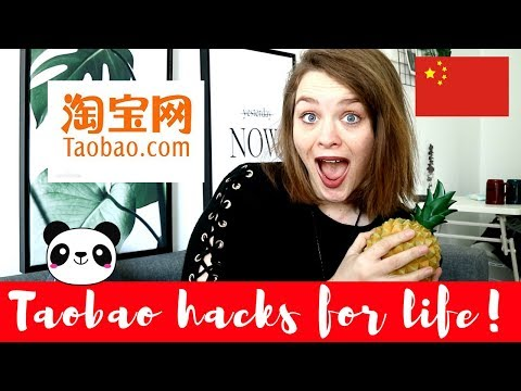 HOW TO BUY THE COOLEST THINGS ON TAOBAO