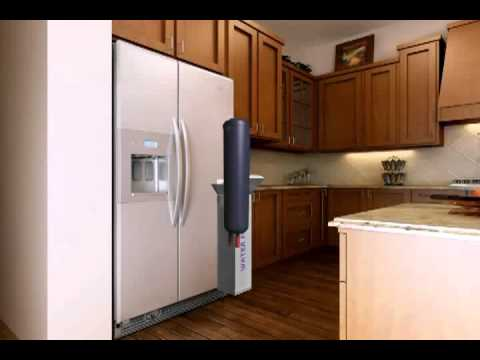 How to replace a refrigerator with base grille water filter using Whirlpool 4396710P