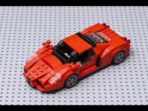 how to make LEGO Ferrari ENZO moc